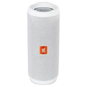 Caixa de Som JBL Flip 4 16W com Bluetooth/Auxiliar Bateria 3000 mAh - Branco por R$ 323