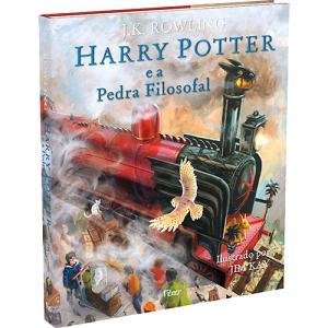 Harry Potter e a Pedra Filosofal (Edição Ilustrada)