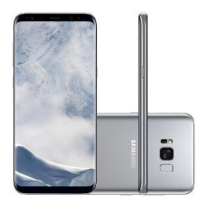 "Smartphone Samsung Galaxy S8+ SM-G955FD 64GB Prata 4G Tela 6.2"" Câmera 12MP Android 7.0 | R$ 2.429"