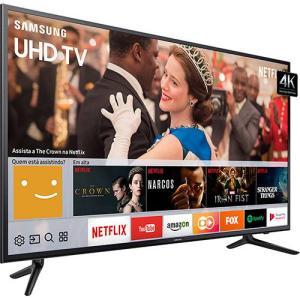 "Smart TV LED 58"" UHD 4K Samsung 58MU6120 HDR Premium - R$ 2842"