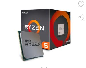 Processador AMD Ryzen 5 1600 c/ Wraith Spire, Six Core, Cache 19MB, 3.2GHz (Max Turbo 3.6GHz) AM4   R$695