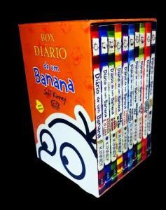 Box - Diário De Um Banana - 10 Volumes - R$69