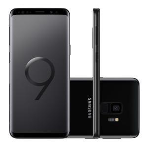 "Smartphone Samsung Galaxy S9 SM-G9600ZKKZTO 128GB Preto Tela 5.8"" Câmera 12MP Android 8.0 - R$2699"