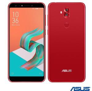 """Zenfone 5 Selfie Vermelho Asus, com Tela de 6"""", 4G, 64 GB e Câmera Dual de Dual 16+8MP"""