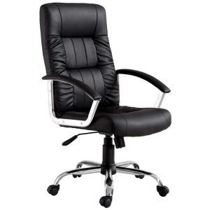 Cadeira Office Finlandek Presidente Plus com Função Relax e Regulagem de Altura - R$387