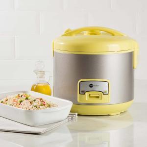 Panela Elétrica de Arroz Colors Fun Kitchen Amarela 10 xícaras 220V - R$72