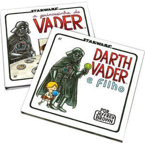 Livros Darth Vader e Filho + A Princesinha de Vader - R$ 16,99