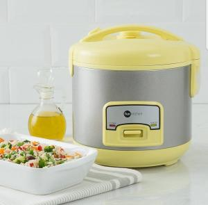 Panela Elétrica de Arroz Colors 5 Xícaras Amarelo 220v - Fun Kitchen R$50