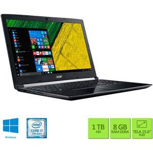Notebook Acer A515-51G-72DB i7 8GB (GeForce 940MX) 1TB
