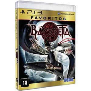 Game - Bayonetta: Favoritos - PS3  R$19,50