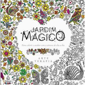 Livro para Colorir - Jardim Mágico