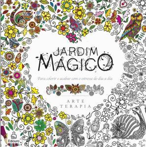 Livro Jardim Mágico para colorir