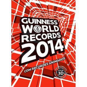 Livro Guinness World Records 2014 Brochura Completo