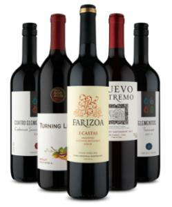 Kit 5 vinhos 5 estrelas (5 Garrafas) na Vinho Fácil - R$109