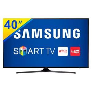SMART TV LED 40 Samsung 4K MU6100