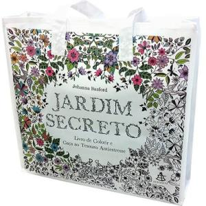 Sacola Jardim Secreto/Floresta Encantada