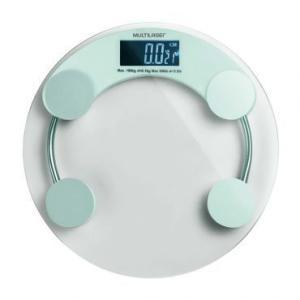 Balança digital de vidro Eatsmart Multilaser HC039 só R$ 29,90