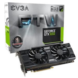 Placa de vídeo Geforce GTX 1050 FTW DT Gaming ACX 3.0 2 GB - R$765