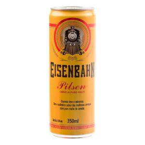 Cerveja Eisenbahn Pilsen Puro Malte 350ml por R$ 2