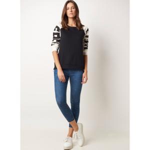 Calça LE LIS BLANC Aline Skinny Stars Jeans Azul Feminina - R$120