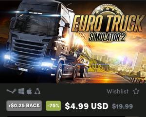 Euro Truck Simulator 2 - PC R$19