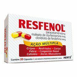 Resfenol - R$ 5,90