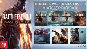 Passe Premium do Battlefield 1