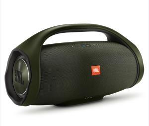 Caixa de Som Portátil JBL Boombox Bluetooth à Prova d'água - Verde - R$ 1484