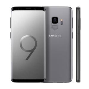 """Smartphone Samsung Galaxy S9 Cinza com 128GB, Tela Infinita de 5.8"""", Dual Chip, Android 8.0, Câmera 12MP, 4GB RAM - R$ 2639"""