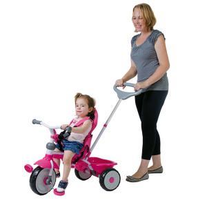 Triciclo Xalingo Confort Ride 3X1 - Pink | R$322
