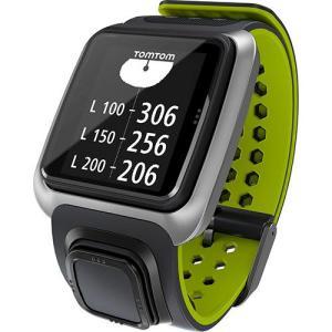 Relógio com GPS TomTom Golfer Cinza/Verde | R$700