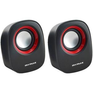 Caixa de Som USB 6w RMS Sp205 Preto/Vermelho - MyMax   R$ 1,99