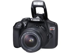 "Câmera Digital Canon EOS Rebel T6 18MP - Profissional 3"" Full HD Wi-Fi"