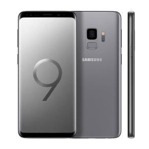 "Smartphone Samsung Galaxy S9 Cinza 128GB, 5.8"", Dual Chip, Android 8.0, Câmera 12MP, 4GB RAM - R$ 2699"