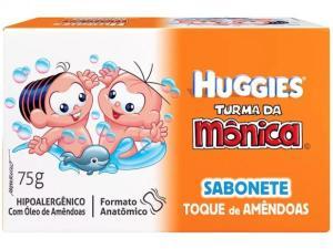 Sabonete Barra com Creme Hidratante - Turma da Mônica Huggies por R$ 2