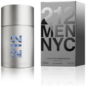 Perfume 212 Men Masculino Carolina Herrera EDT 50ml - R$255