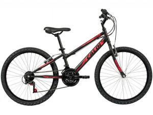 Bicicleta Infantil Aro 24 Caloi Max 21 Marchas - Preto V-Brake R$450
