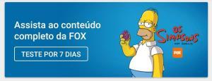 Aplicativo FOX - 7 dias grátis