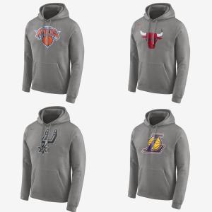 Blusão em moletom Nike - Times de basquete (4 modelos disponíveis) - R$143
