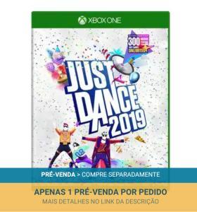 Just Dance 2019 Xbox One (Pré-Venda) - R$188