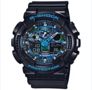 Relógio Masculino Casio G-Shock GA-100CB-1A 55 mm Preto - R$ 199