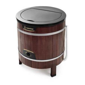 Lavadora de Roupa Tradicional 5KG Com Timer Wanke Madeira Escura | R$401