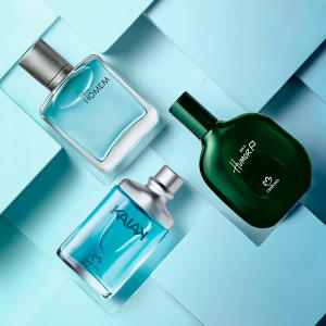 Presente Natura Miniaturas da Perfumaria Masculina - R$110