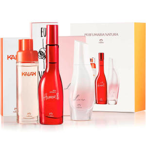 Presente Natura Miniaturas da Perfumaria Feminina | R$110