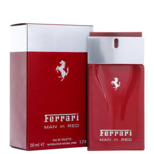 Man In Red Ferrari Eau de Toilette - R$147