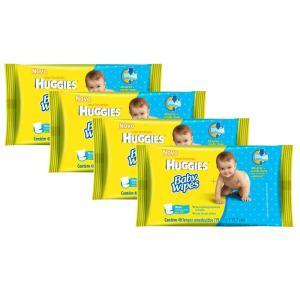 192 Lenços Umedecidos Huggies Baby Wipes - R$18