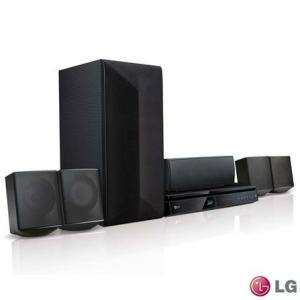 Home Theater LG com Blu-ray 3D, 5.1 Canais e 1000 Watts