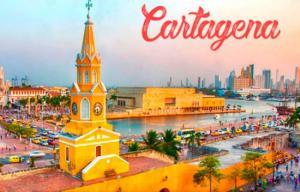 Pacote Cartagena, com aéreo e hotel (6 diárias), a partir de R$2.497 por pessoa + Taxas