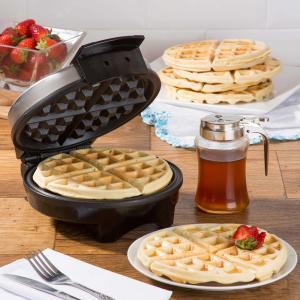 Waffle Inox Fun Kitchen com 2 anos de Garantia - R$73
