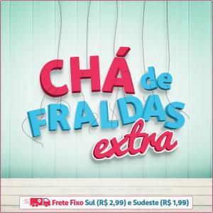 Promoção Chá de Fraldas Extra - Até 50% de desconto